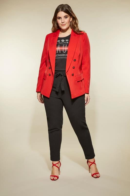 LOVEDROBE Red Blazer