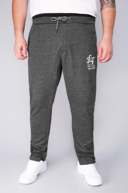 LOYALTY & FAITH Charcoal Basic Joggers