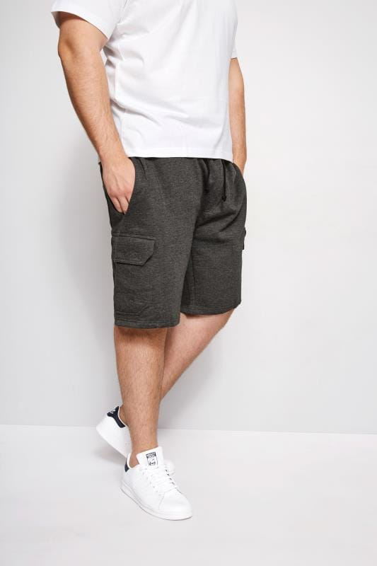 Jogger Shorts LOYALTY & FAITH Charcoal Grey Fleetwood Short 200968
