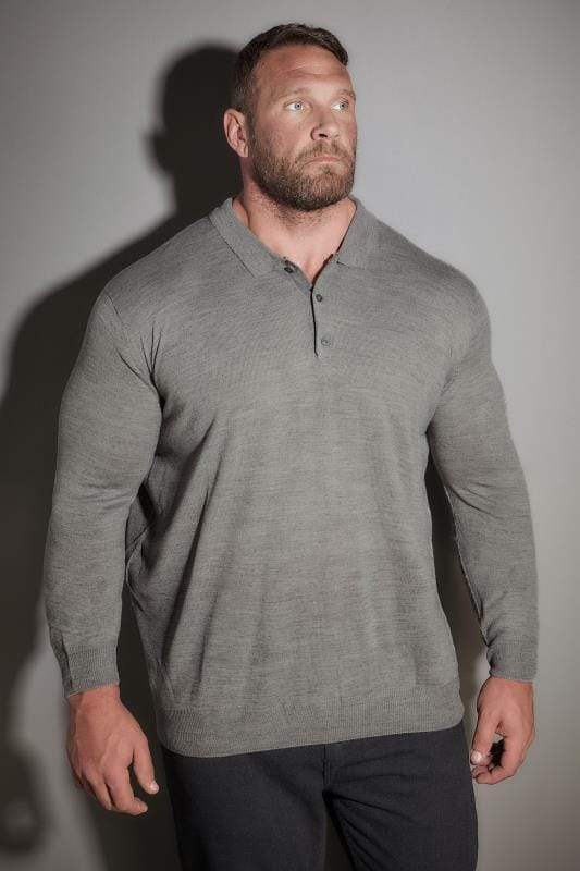 LOYALTY & FAITH Grey Fine Knit Jumper