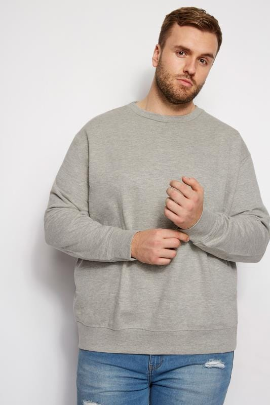 LOYALTY & FAITH Grey Marl Morecambe Sweatshirt