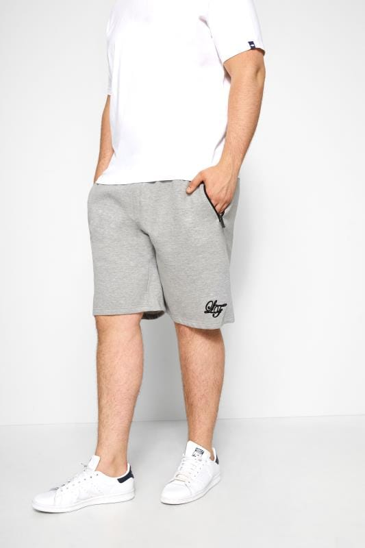 Jogger Shorts LOYALTY & FAITH Grey Marl Sweat Shorts 201143