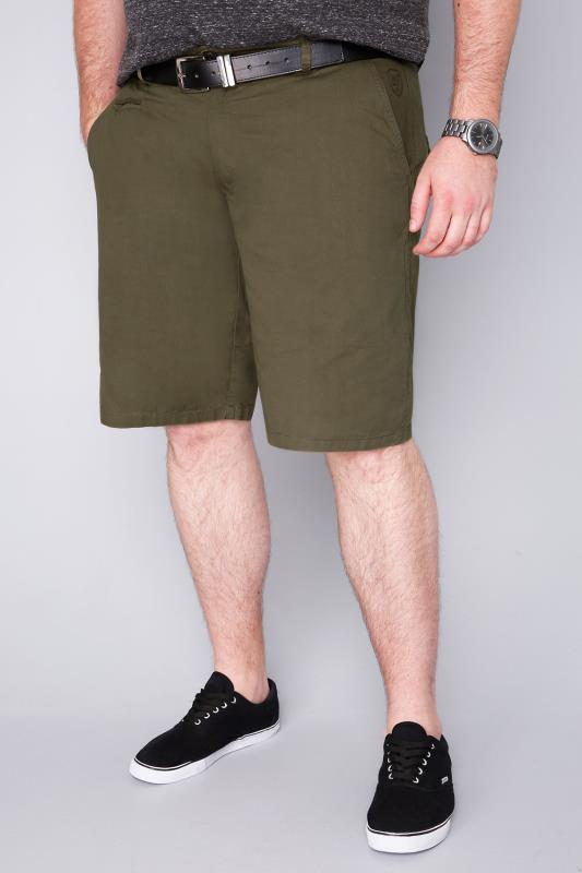 LOYALTY & FAITH Khaki Cotton Shorts
