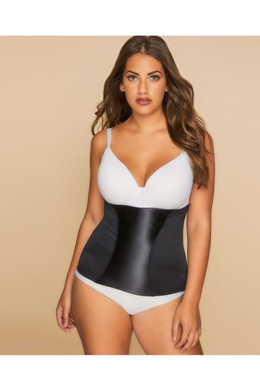 Grote maten Grote maten Shapewear MAIDENFORM Flexees Pull-On Black Waistnipper