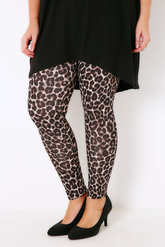 Multi Animal Print Leggings