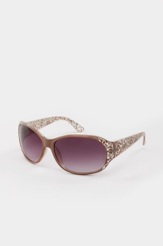 Natural Filigree Sunglasses