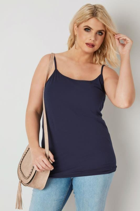 Navy Cami Vest Top