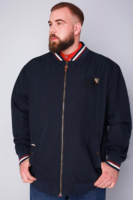 Navy Santa Monica Bomber Jacket