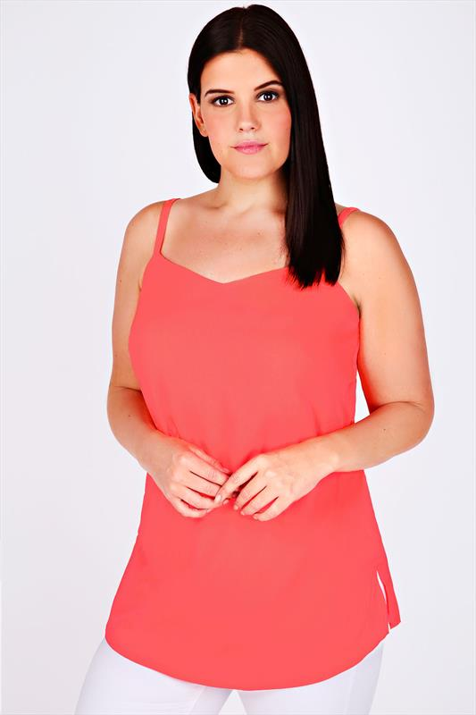 View our range of simple & stylish camisole tops. Choose from bright block colours to feminine silky numbers. Shop the range online today.
