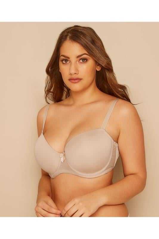 Plus Size Plus Size T-shirt Bras Nude Moulded T-Shirt Bra - Best Seller