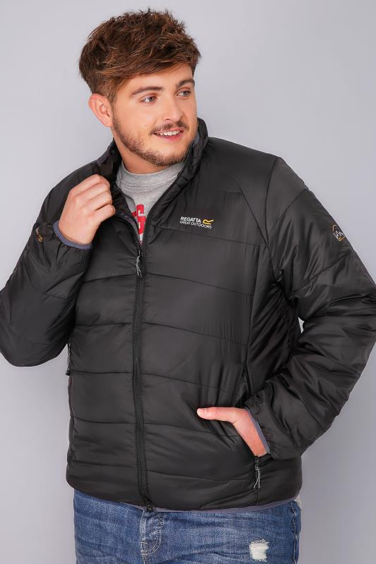 Jackets REGATTA Black Icebound Jacket 101615