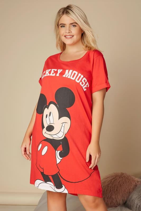 Red Disney Mickey Mouse Nightdress