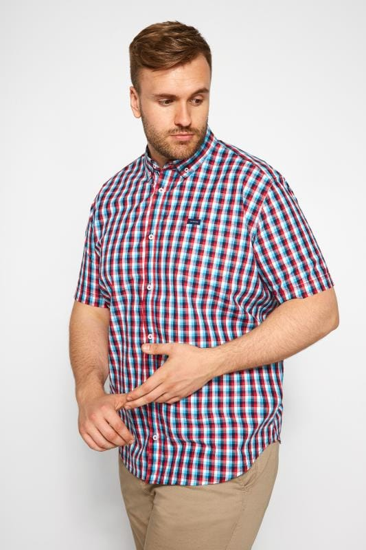 BadRhino Red & Blue Checked Shirt