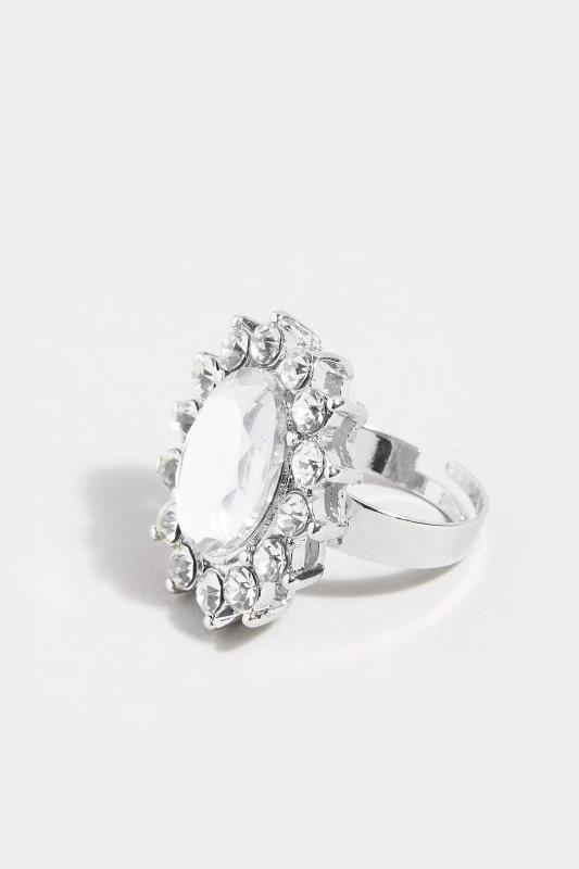 Silver Jewel Ring