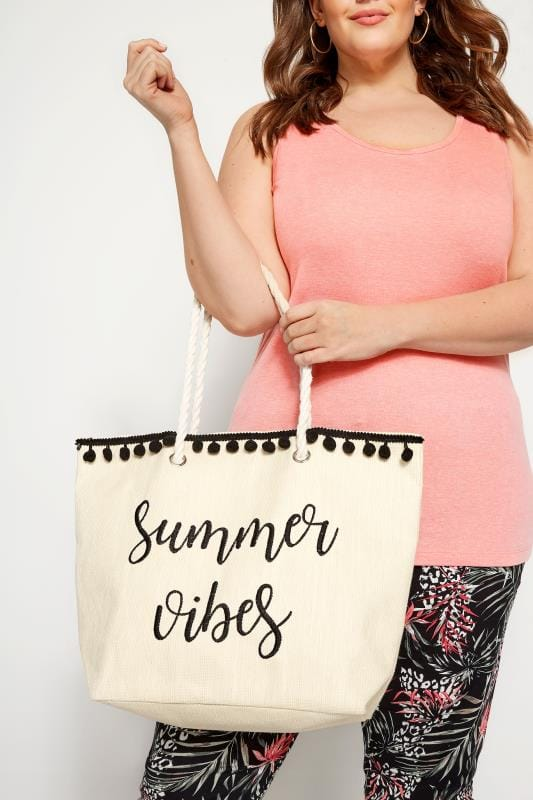 Bags & Purses Summer Vibes Raffia Beach Bag