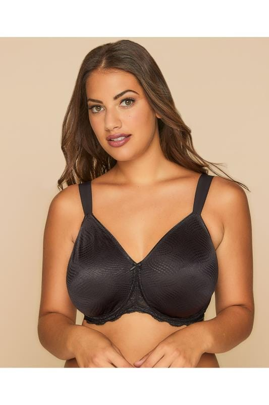 TRIUMPH Black Essential Minimiser Underwired Bra