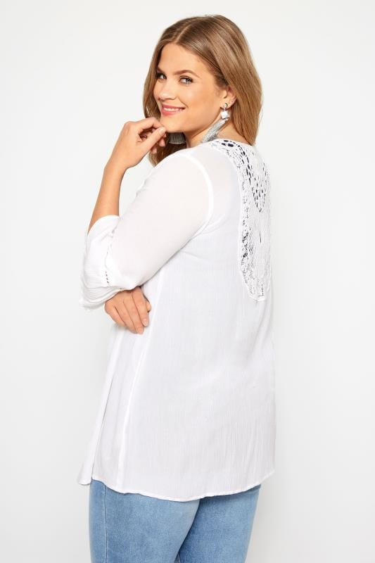 bb73356a9e6 Plus Size Cover Ups White Crochet Cover Up