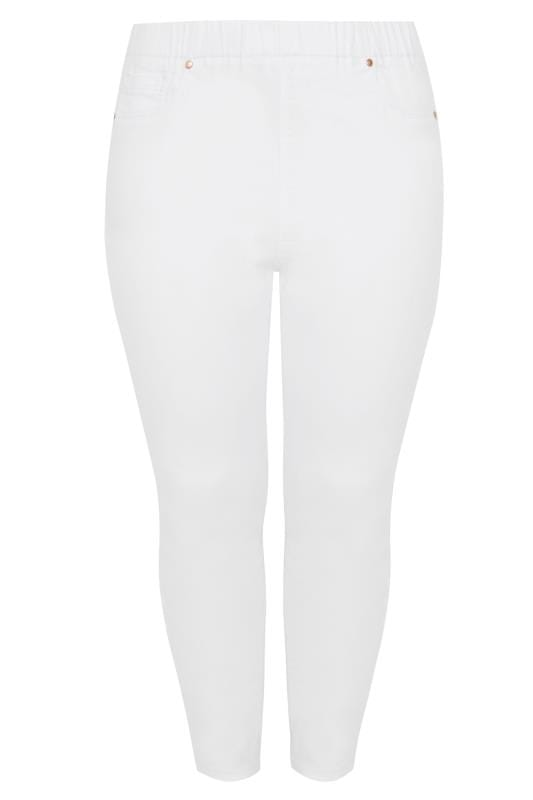 Pantacourts denim Jegging Pantacourt Blanc JENNY  144161