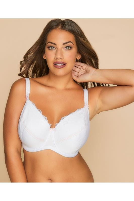 White Underwired Soft Padded Bra