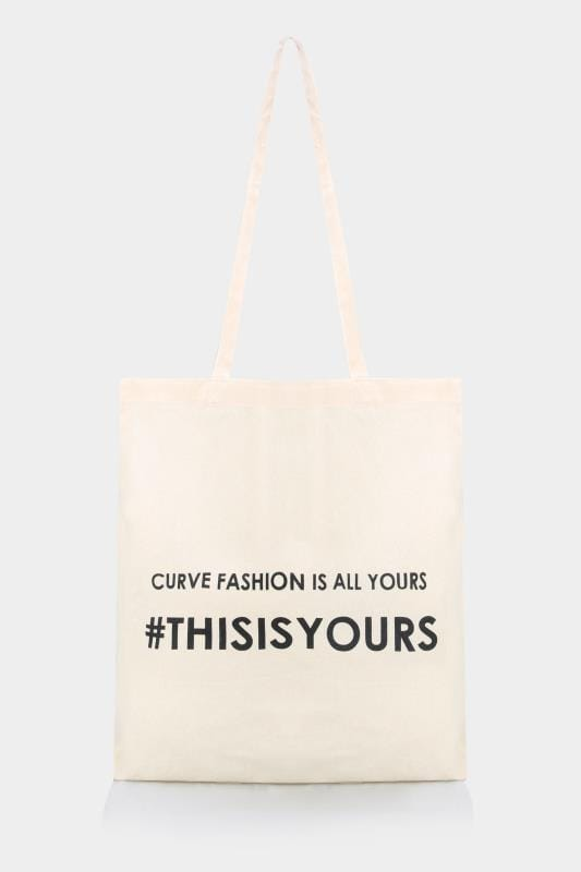 Yours Clothing Shopper Canvas Bag
