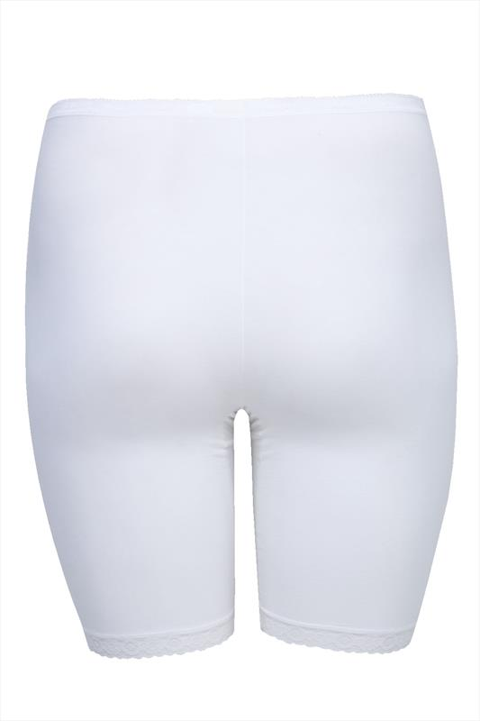 Briefs & Knickers SLOGGI White Basic Long Length Briefs 014248