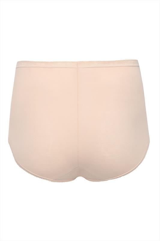 SLOGGI 3 PACK Nude Basic Maxi Briefs