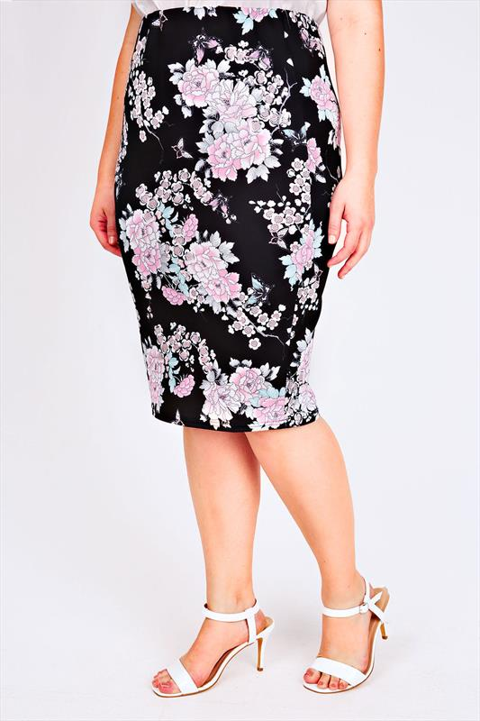 how to wear a midi pencil skirt plus size