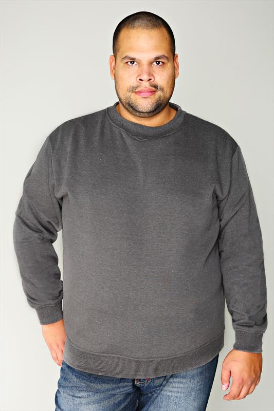 Rockford Grey Marl Crew Neck Jumper