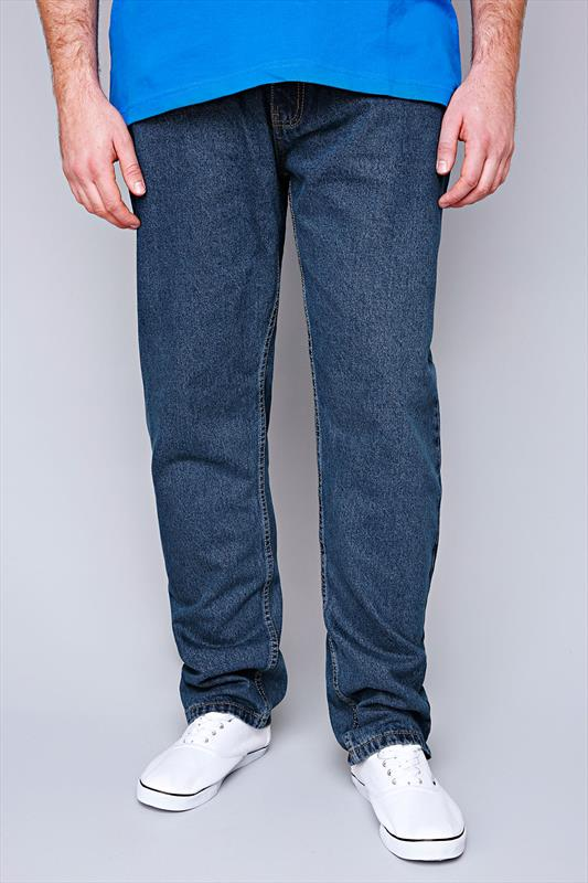 Straight Rockford Stonewash Stretch Jeans 070418
