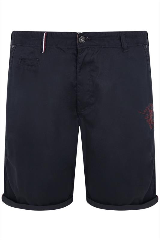 Classic Navy Monica Polo Club Shorts
