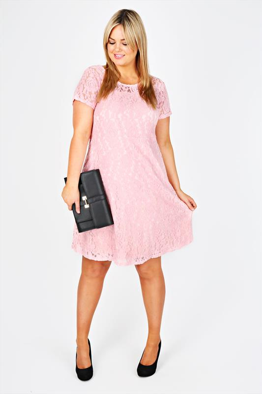 Pink Plus Size Clothes Keninamas