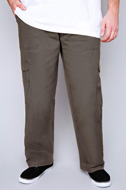 Cargo Trousers DUKE Khaki Cargo Trousers 070670