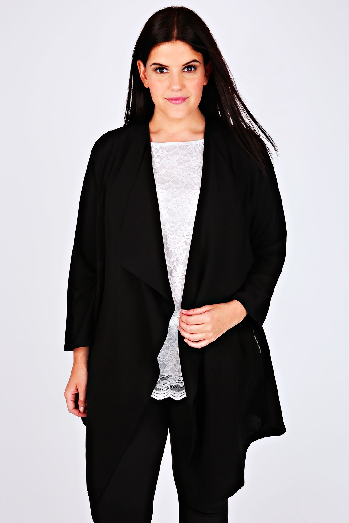 bd1b4b6d4f Plus Size Coats   Jackets