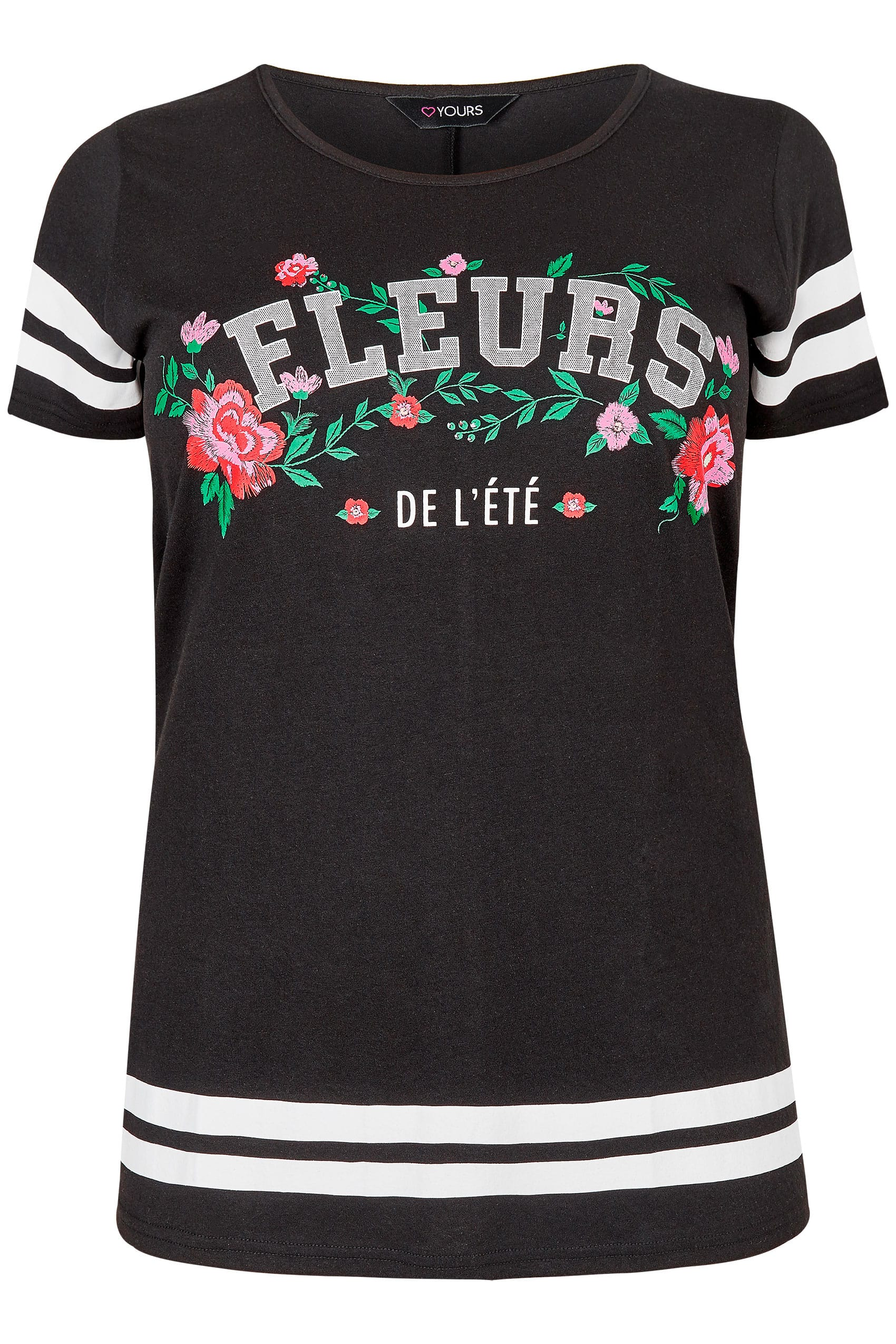 Zwarte fleurs t shirt met bloemenprint maten 44 64 for California privacy policy template