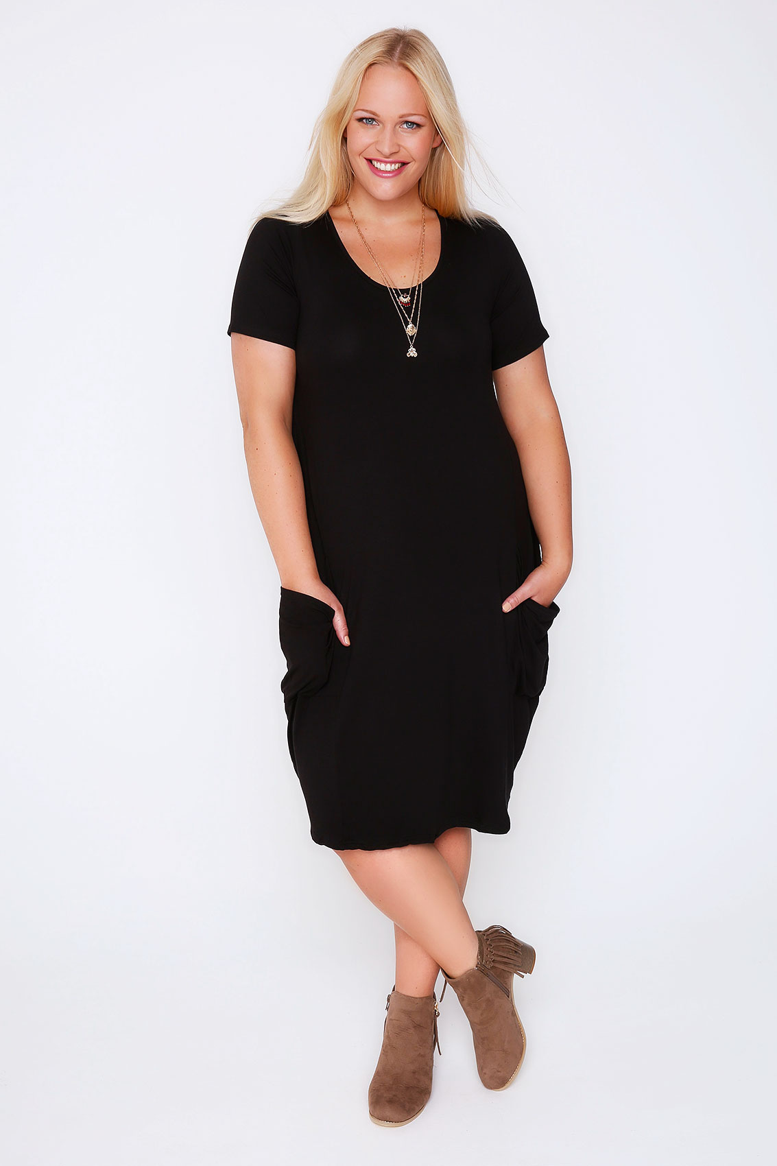 Black crew neck jersey dress Save. Was £ Now £ The Collection Black floral print jersey dress Save. £ Red Herring Maternity Black spot print jersey mini maternity dress Save. £ Wallis Black ring ruched shift dress Save. Was £ Now £