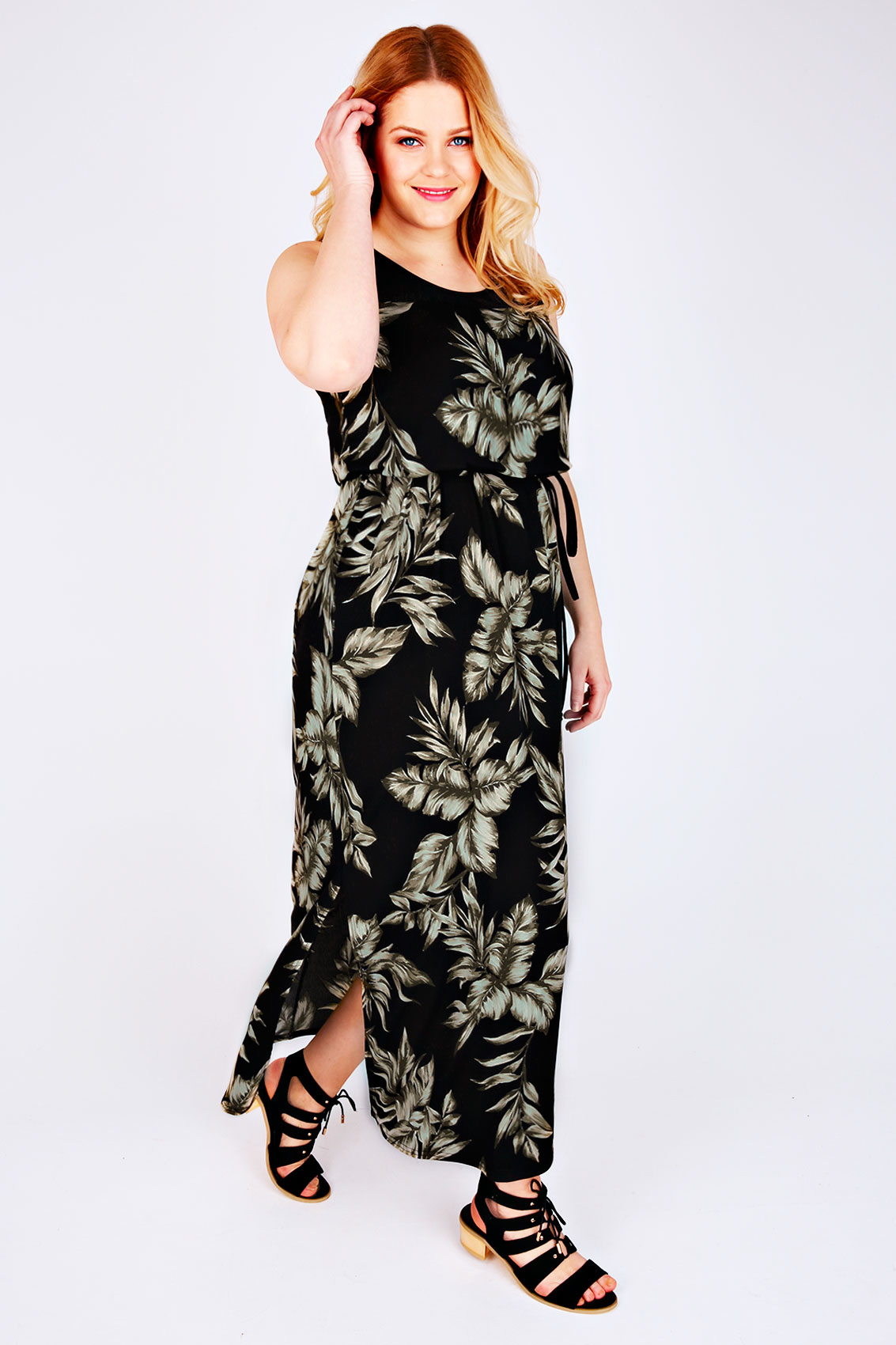 Black and pink floral print maxi dress Save. £ Izabel London Black floral print zip front maxi dress Save. £ HotSquash Black sequined halterneck maxi evening gown Save. Was £ Now £ Stella Nova Black boho print 'Margo' high neck long sleeves maxi dress.