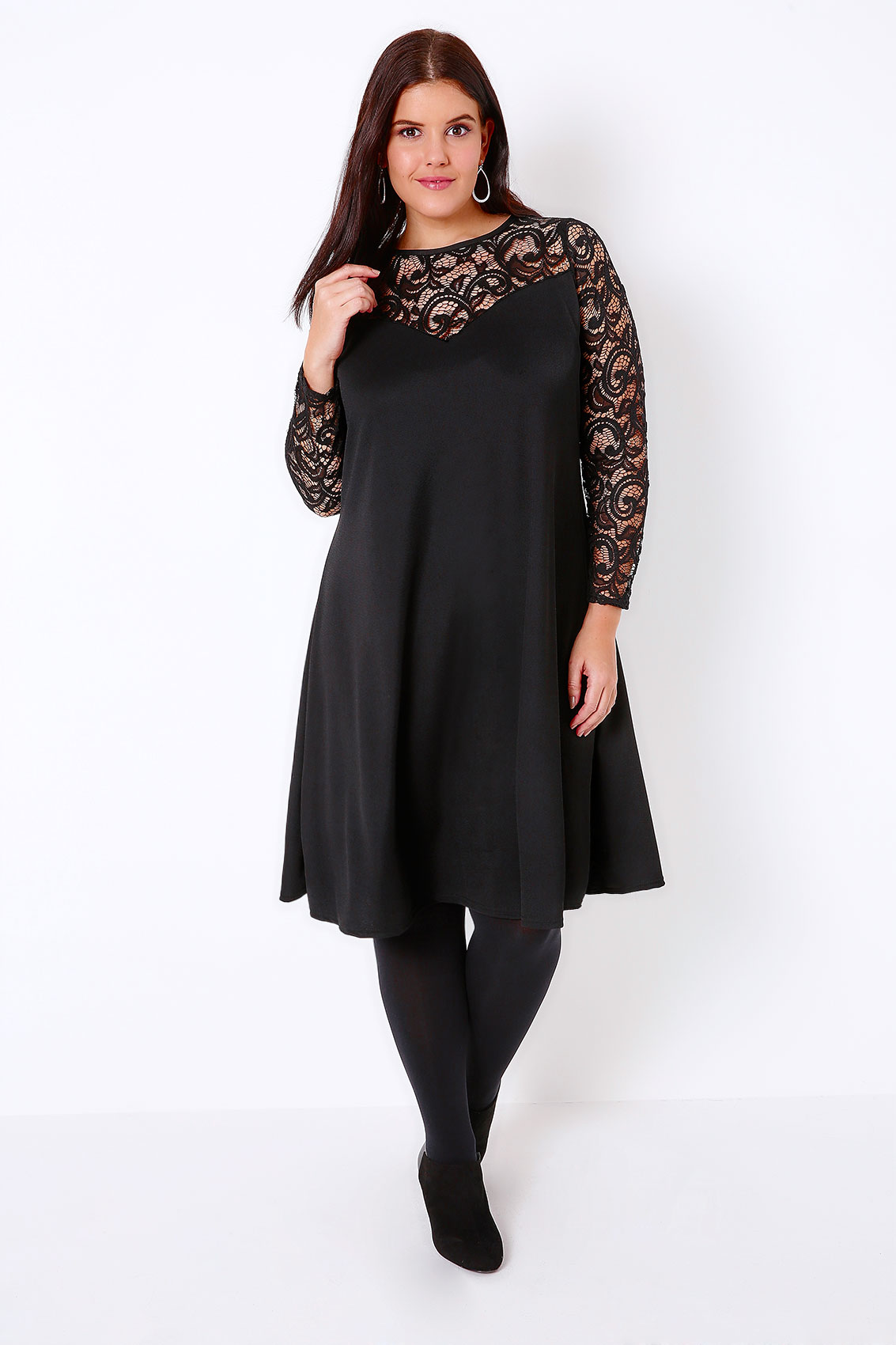 Find great deals on eBay for black lace swing dress. Shop with confidence.