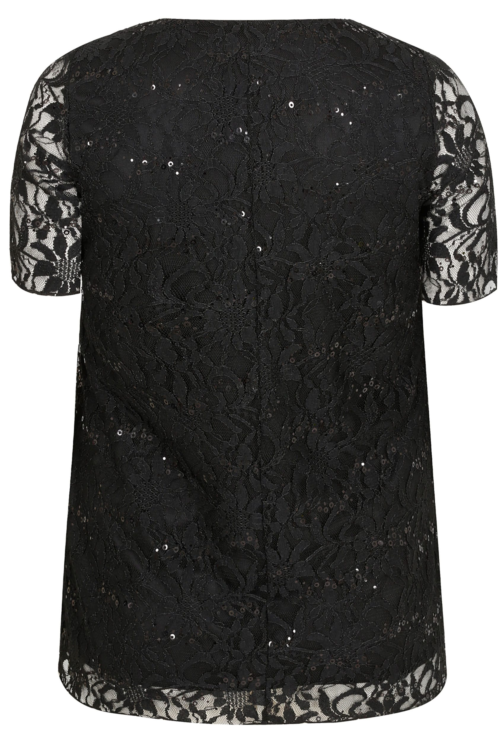 Shop for Black Lace Sleeve Top at Next Portugal. International shipping and returns available. Buy now!