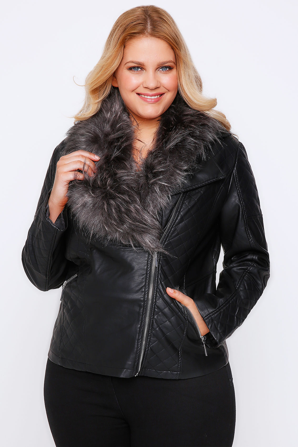 Looking for great fashion details like hoods, multiple zippers, faux fur trim? We've got them, in sizes XS to 6X and One Size. Shop leather, faux fur, down, classic wool or water resistant nylon for trenches, moto jackets, hoodies and more.