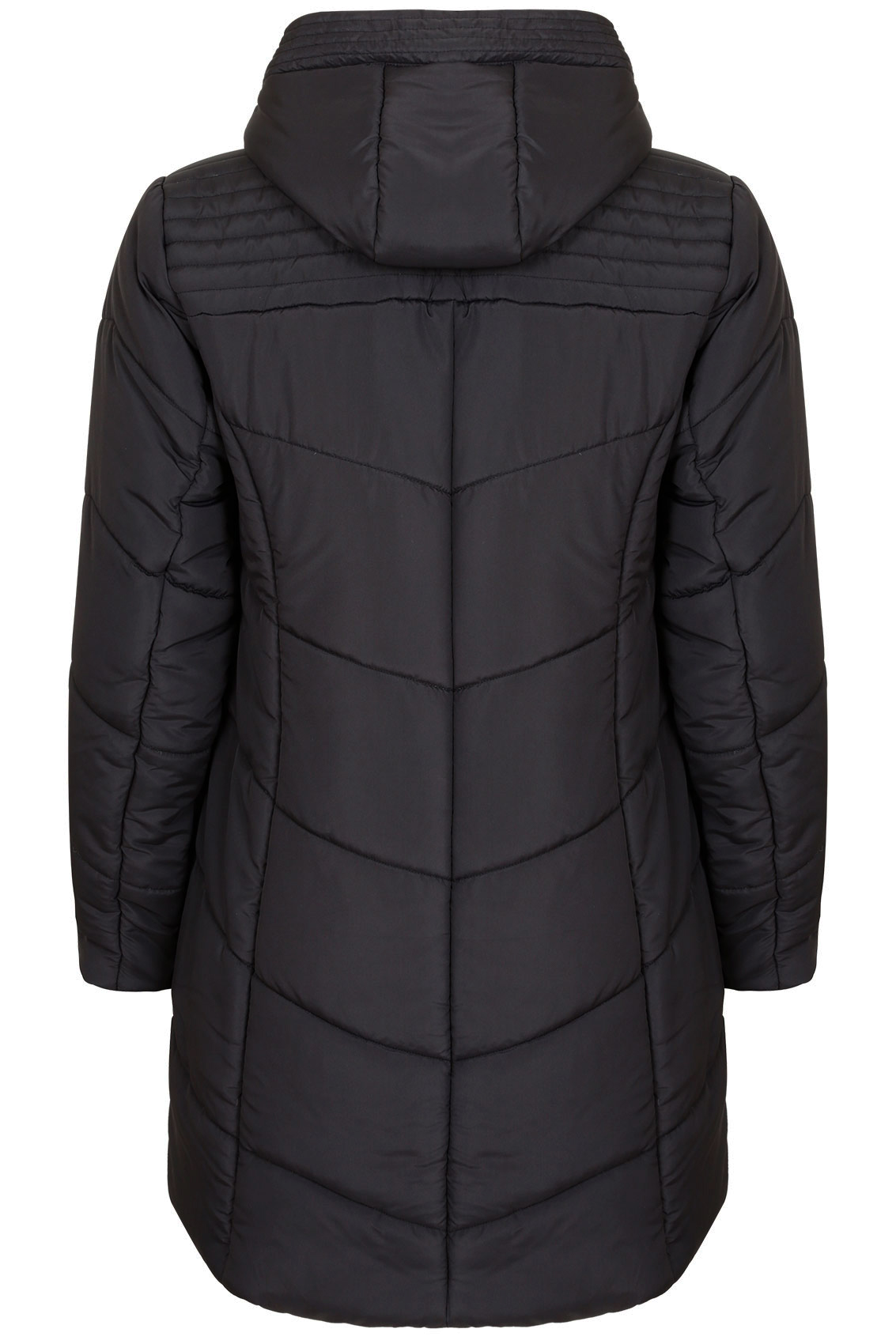 Black Padded Jacket - hitmixeoo.gq