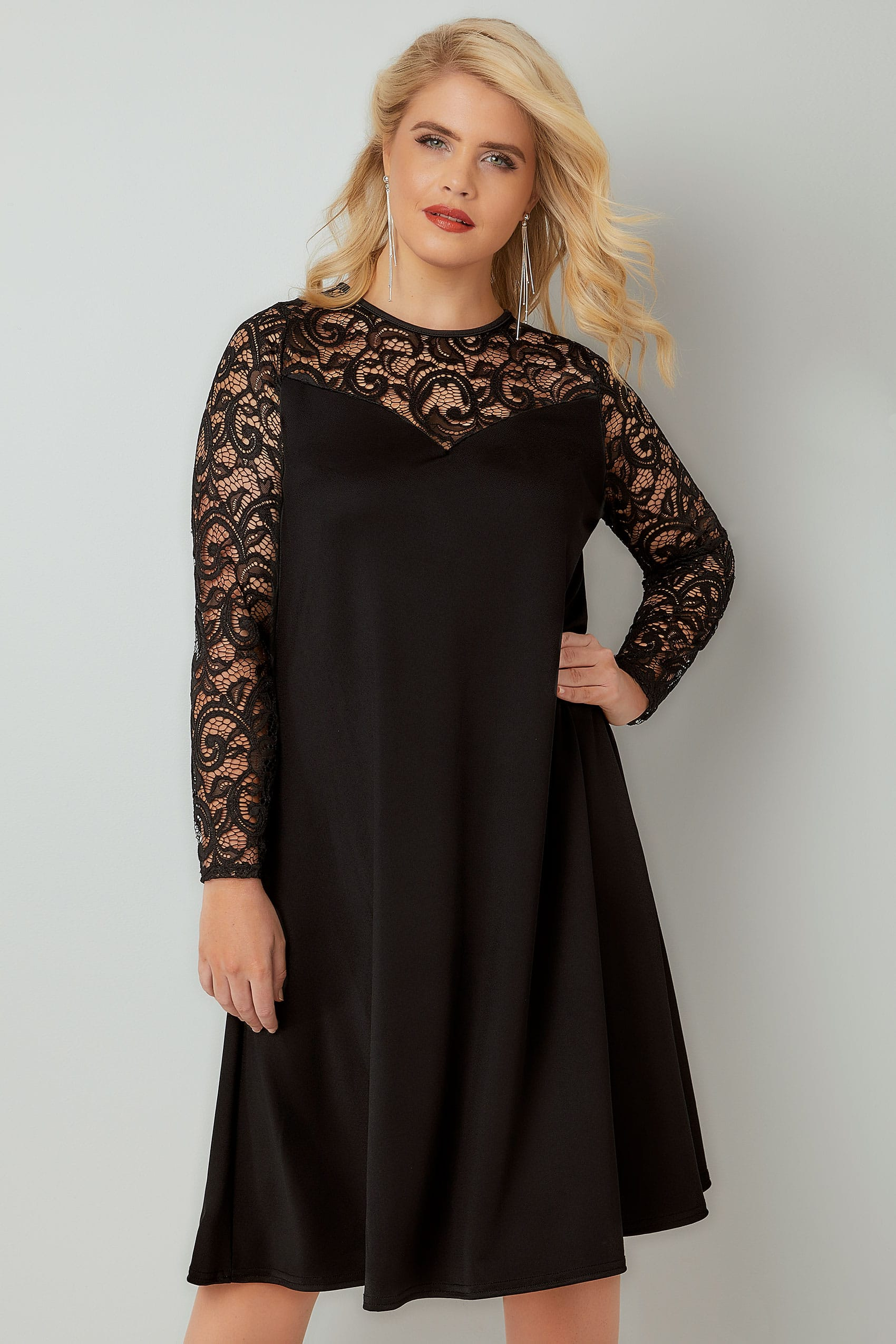 Black dress size 16