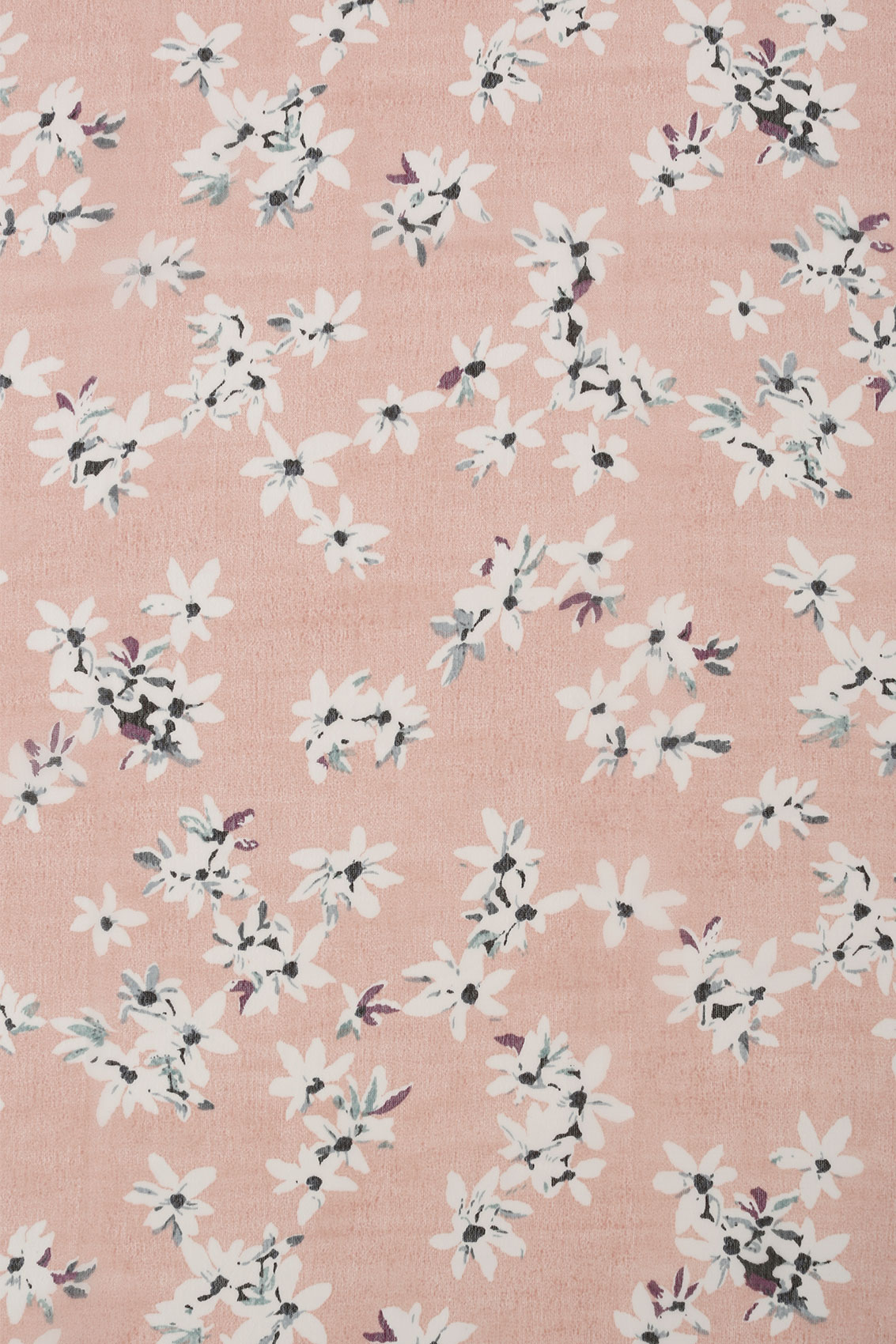 Blush pink daisy print scarf - Add background image to div ...