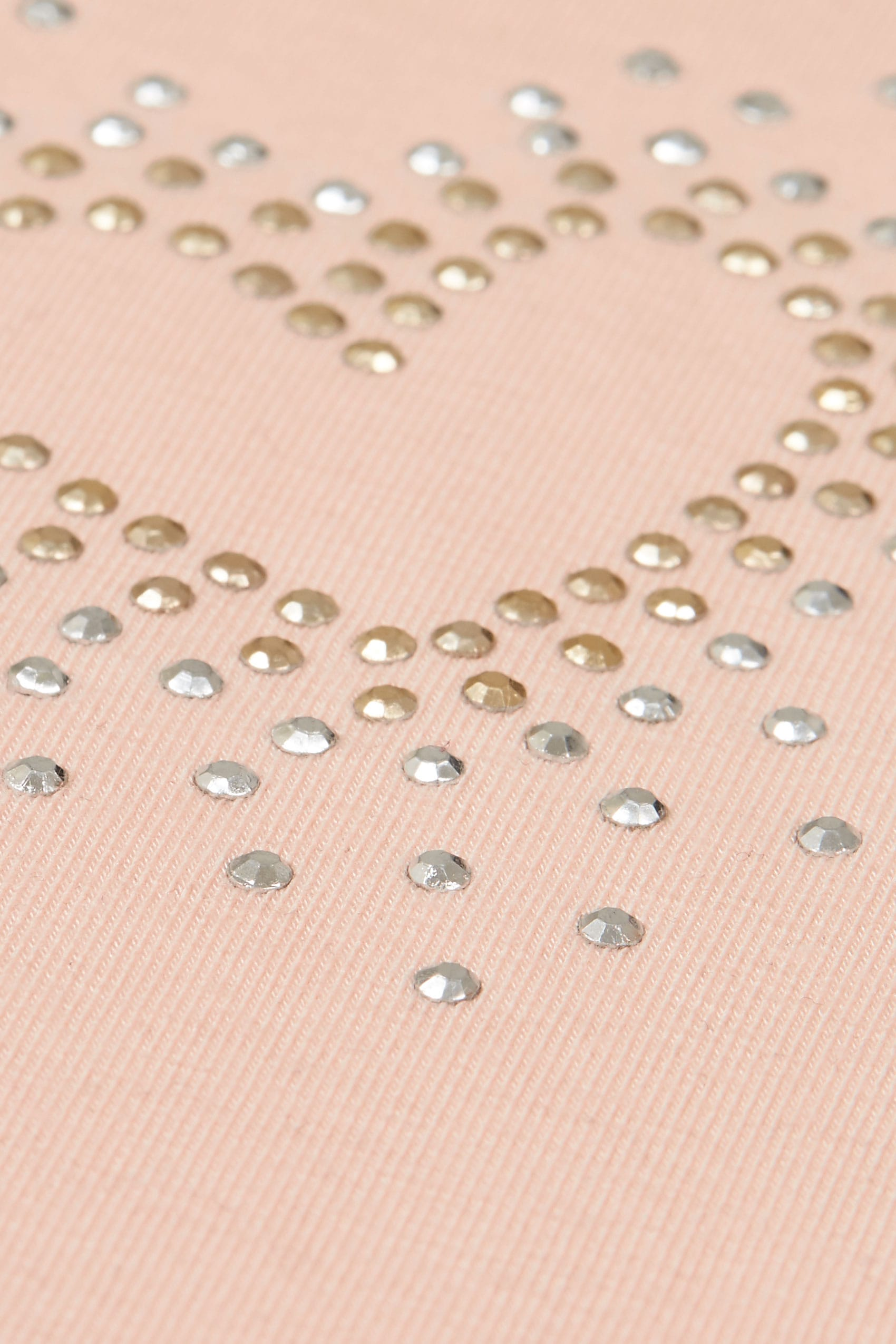 Blush pink heart studded cape top plus size 16 to 36 - Background image of div ...