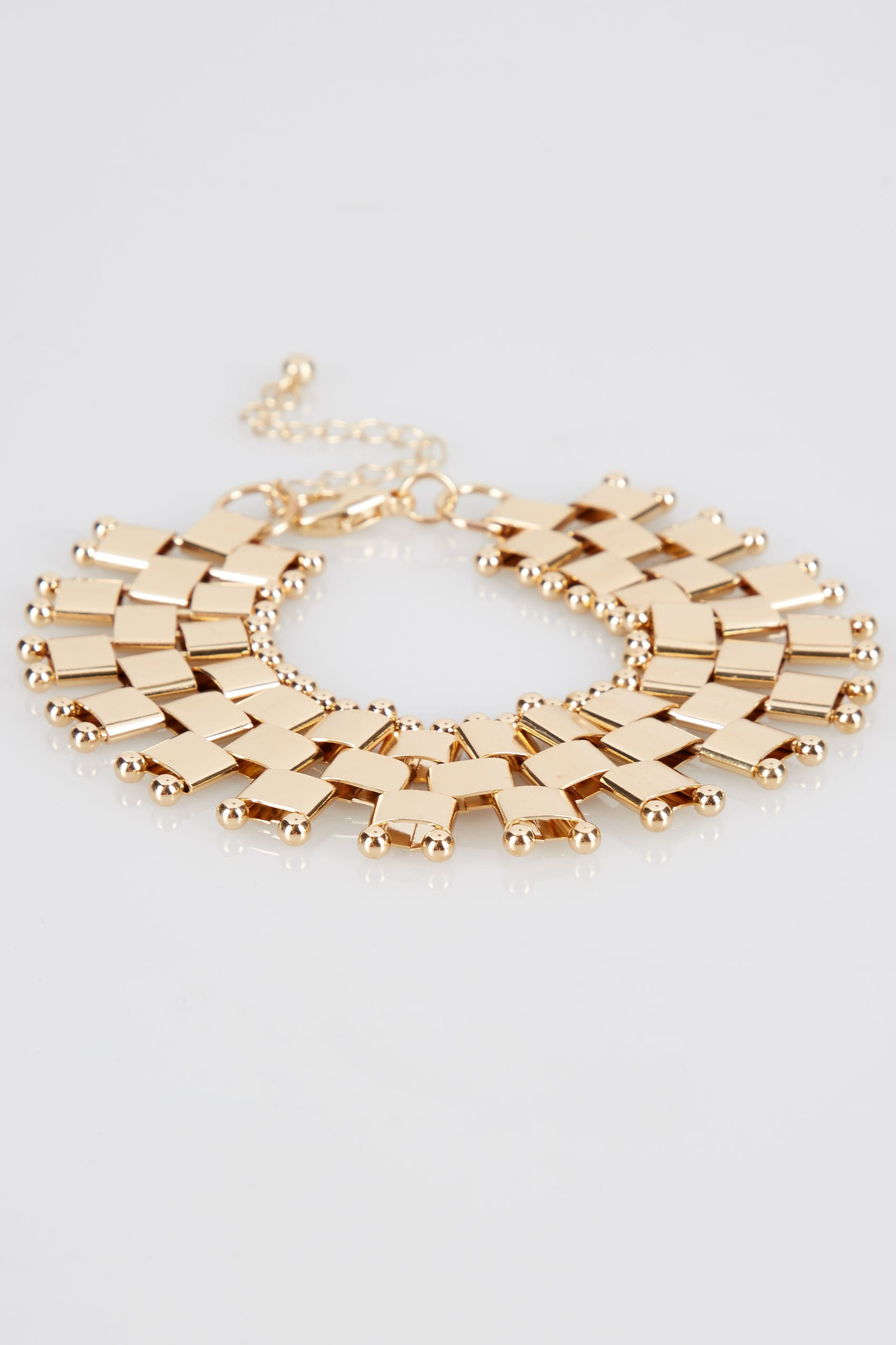 bracelet in linked chain gallery normal collection jewelry link metallic lyst maiocci product