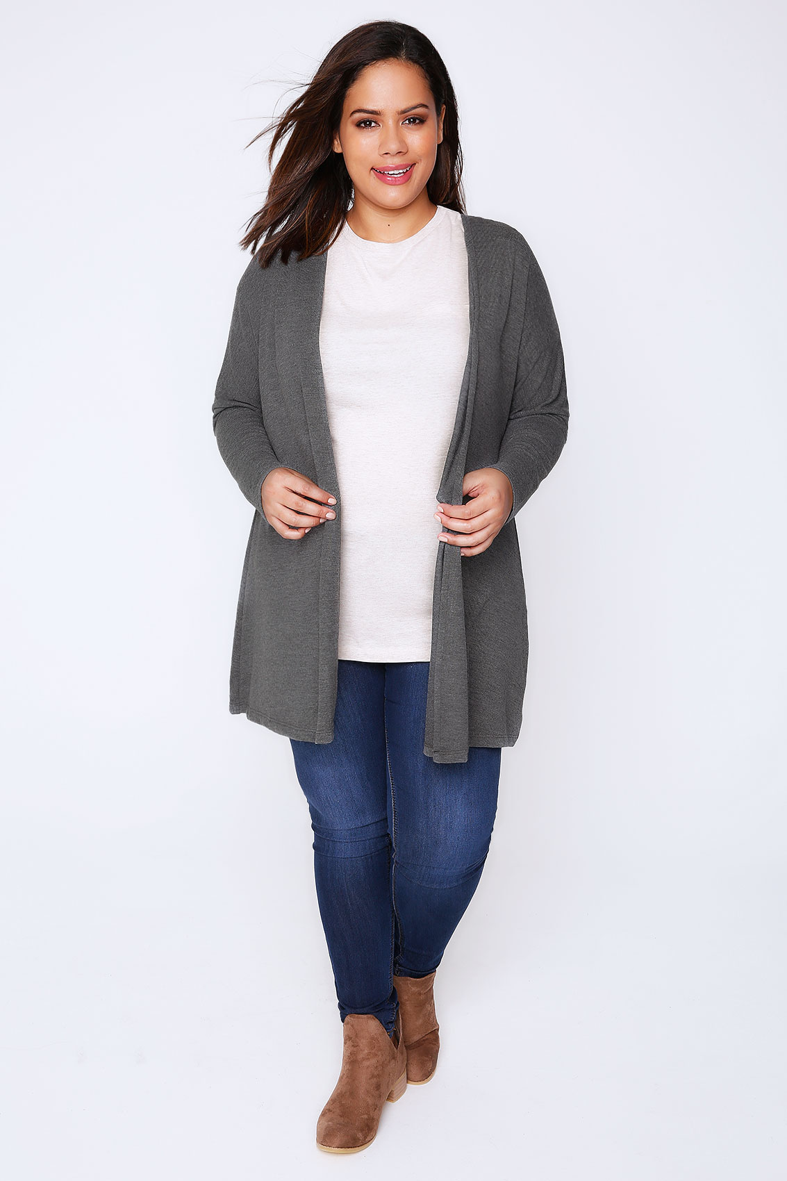 Layer this soft versatile long cardigan by Goodnight Macaroon over a polished blouse or casual top for fashionable, cozy-chic outfit! 'Aiko' Basic Soft Wrap Thin Long Cardigan Layer this soft versatile long cardigan by Goodnight Macaroon over a polished blouse or casual top for fashionable, cozy-chic outfit!5/5(7).
