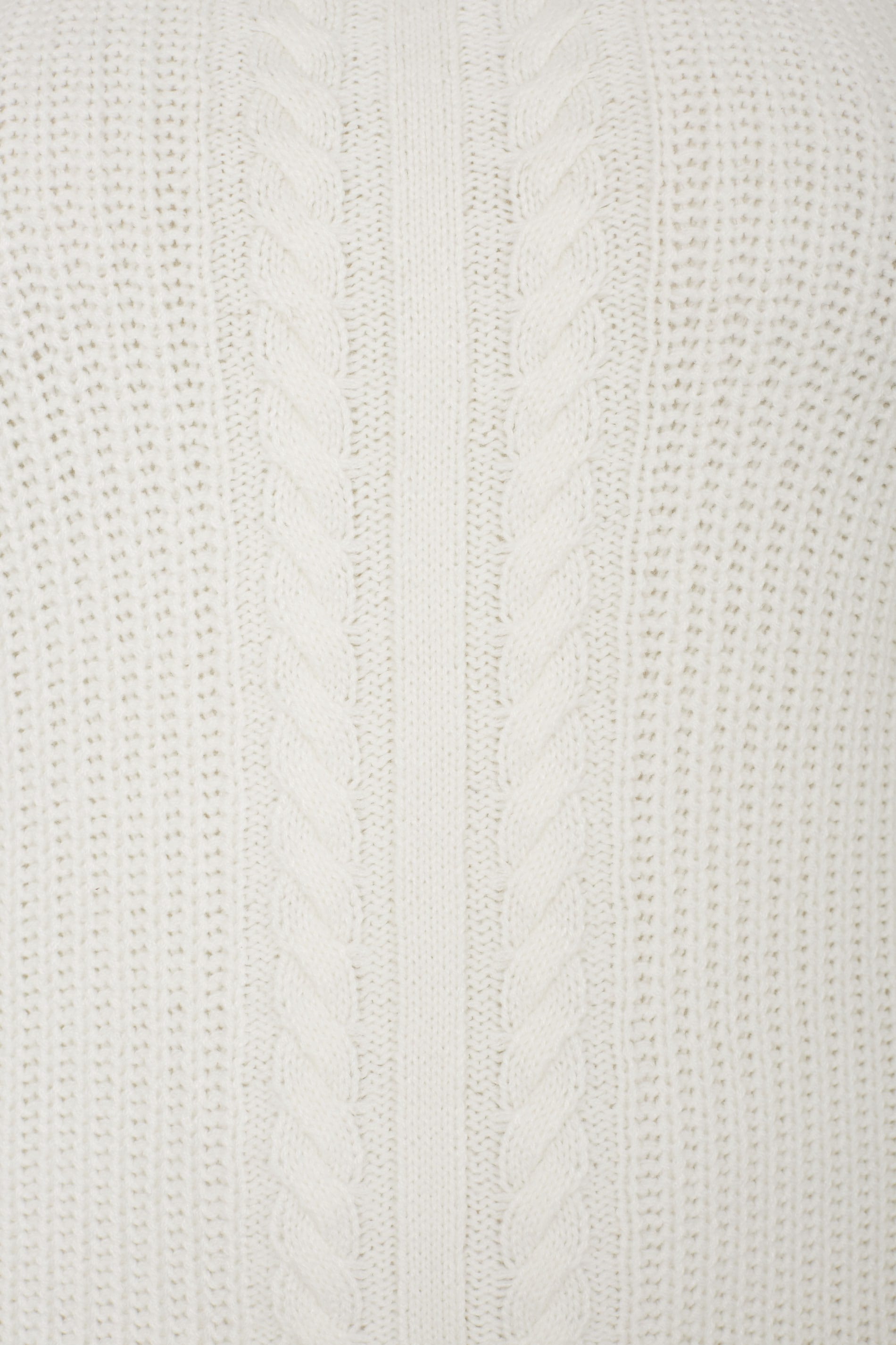ivory cable knit jumper  plus size 16 to 36