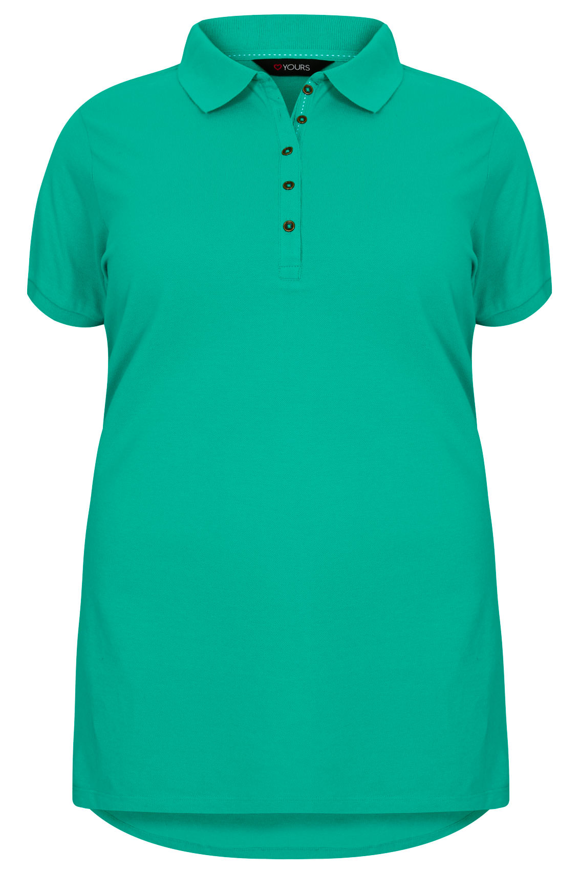 Jade Green Polo T Shirt Plus Size 16 To 36