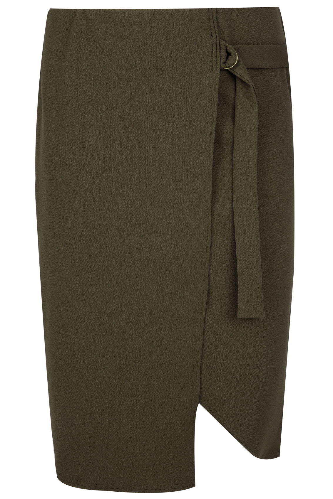 khaki wrap from pencil skirt plus size 16 to 32