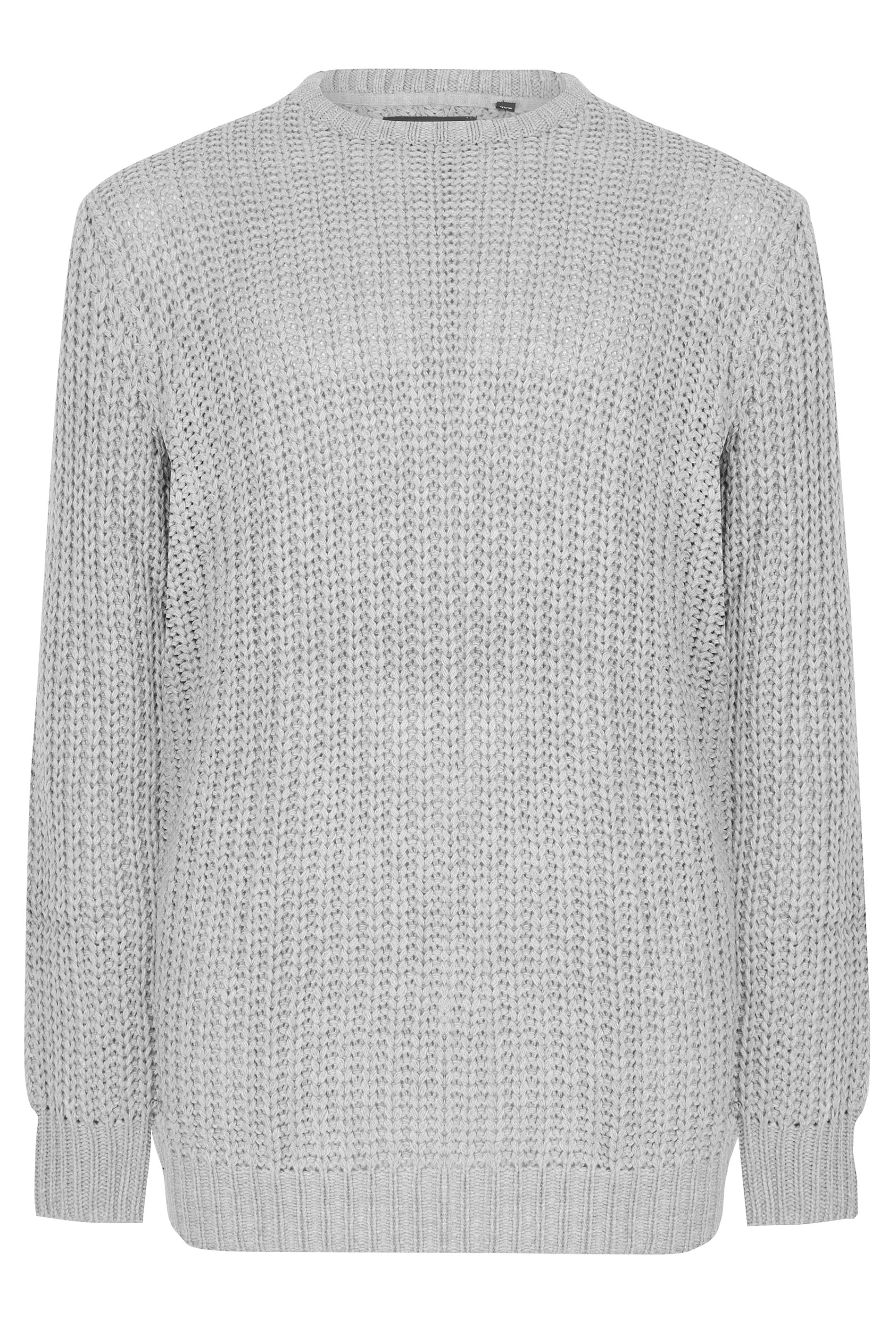e017cf4f7 LOYALTY   FAITH Grey Chunky Knit Jumper