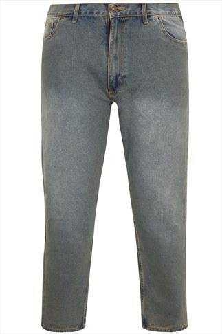 Rockford Dirty Denim 5 Pocket Jeans - TALL